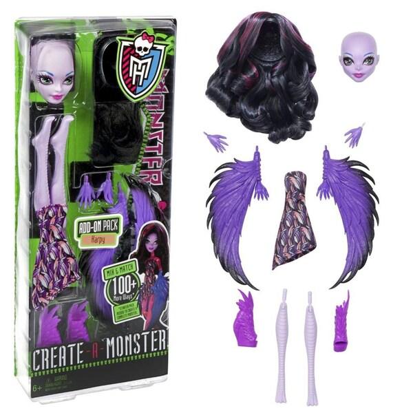 Monster High Create a Monster Harpy Monster High Create-a-monster