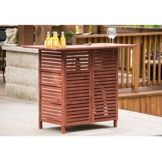 Natural Slated Outdoor Bar with Storage - Regular