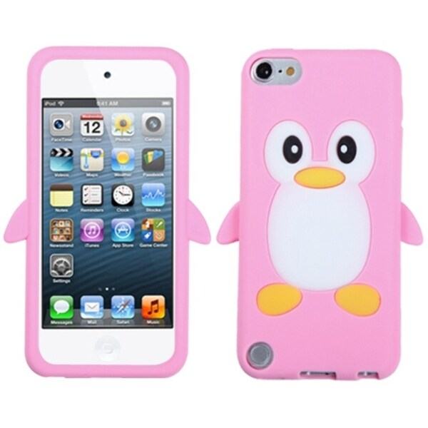 BasAcc Pink Penguin Case for Apple iPod Touch 5