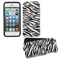 BasAcc Zebra Skin Fusion Case for Apple iPhone 5