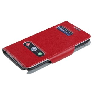 BasAcc Red MyJacket Wallet Case for Samsung Galaxy Note II T998/ I605