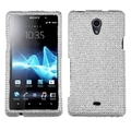 BasAcc Silver Diamante 2.0 Case for Sony Ericsson TL30AT Xperia TL