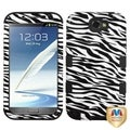 BasAcc Zebra TUFF Hybrid Case for Samsung Galaxy Note II T889/ I605