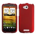 BasAcc Titanium Solid Red Case for HTC One VX
