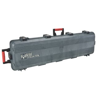 Plano Bone Collector All Weather Double Scoped Rifle Wheeled Black Case