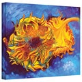 Susi Franco 'Two Sunflowers by Vincent Van Gogh' Gallery-Wrapped Canvas