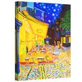 Susi Franco 'Cafe Terrace by Vincent Van Gogh' Gallery-Wrapped Canvas