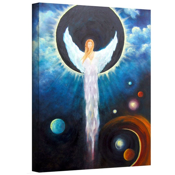 Marina Petro 'Angel of the Eclipse' Gallery-Wrapped Canvas