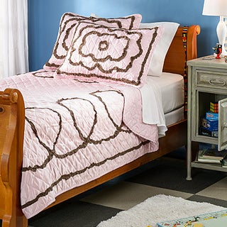 Chenille Circle 3-piece Quilt Set