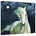 Marina Petro 'Moonsilver' Gallery-Wrapped Canvas