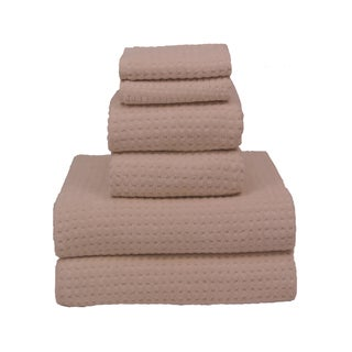 Natural 700-gram Cotton 6-piece Towel Set