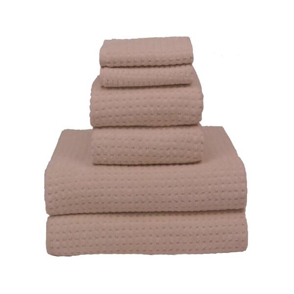 Natural 700-gram Cotton 6-piece Towel Set
