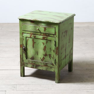 Maryanne Wooden Nightstand (India)