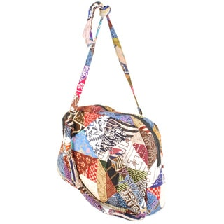 Large Cotton Patch Padded Bag (Indonesia)