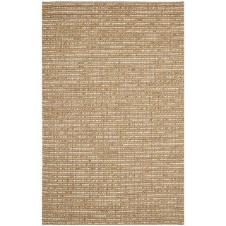 Safavieh Hand-knotted Bohemian Beige Wool Rug (6' x 9')