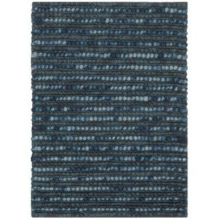 Safavieh Hand-knotted Bohemian Dark Blue Wool Rug (2'6 x 4')