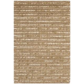 Safavieh Hand-knotted Bohemian Beige Wool Rug (2'6 x 4')