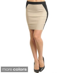 Stanzino Women's Colorblocked Mini Skirt