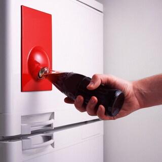 Suck UK Bottle Opener Red Fridge Magnet