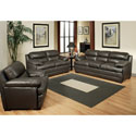 Abbyson Living 'Hanover' Premium Top Grain Leather Sofa, Loveseat, and Armchair Set