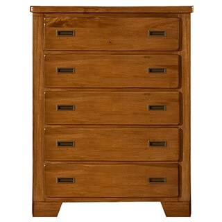 Greyson Living Hardy Brown Finish 5-drawer Chest