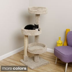 New Cat Condos Premier Kitty Pad Cat Tree