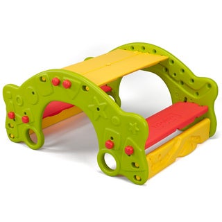 Fisher-Price Grow'n Up 3-n-1 Qwikflip Climber / Rocker / Bench