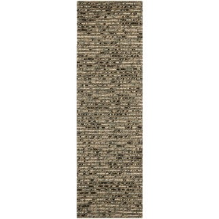 Safavieh Hand-knotted Bohemian Blue Wool Rug (2'6 x 6')