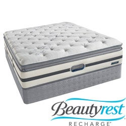 Beautyrest Recharge 'Maddyn' Plush Pillow Top King-size Mattress Set