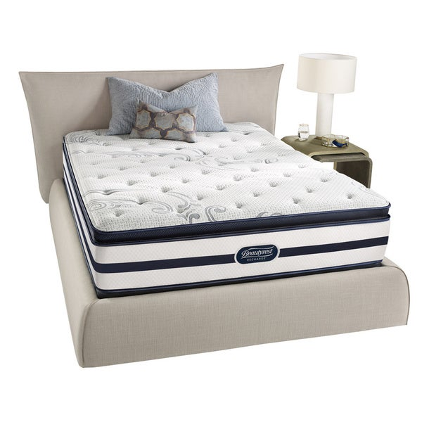 Beautyrest Recharge 39 Maddyn 39 Plush Pillow Top Queen Size Mattress Set