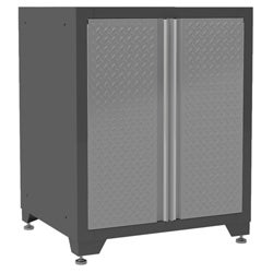 Pro Diamond Plate Series 2-door Base Cabinet