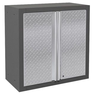 NewAge Pro Diamond Plate Series 2-door Wall Cabinet