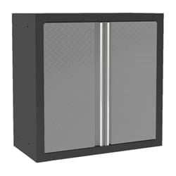 Pro Diamond Plate Series 2-door Wall Cabinet