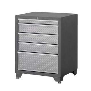 NewAge Pro Diamond Plate Series 5-drawer Tool Storage