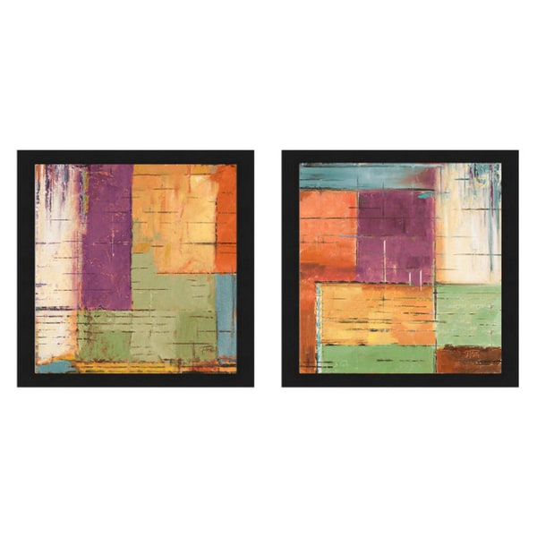 Patricia Pinto 'The Cage I & II' Framed Print