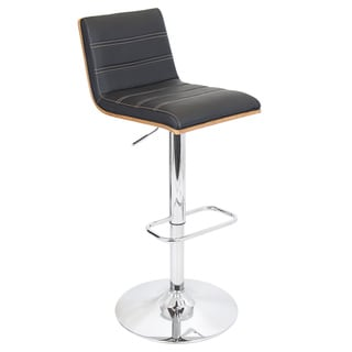 Vasari Bent Wood Adjustable Barstool