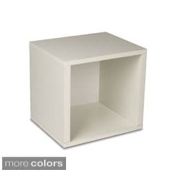 Stackable Paperboard Storage Cube