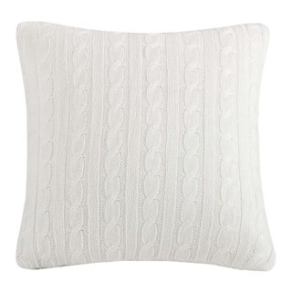 Woolrich River Run Knitted 18-inch Square Pillow