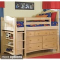 Bennington Low-Loft Twin Bed / Essex 7-Drawer Dresser / 1 Low-Loft Bookcase