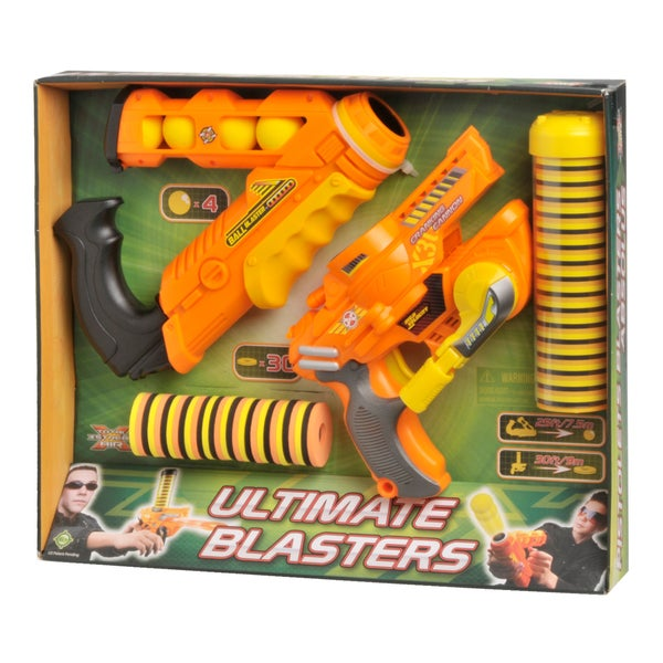 Total Air X-Stream Cranking Cannon & Ball Blaster Set