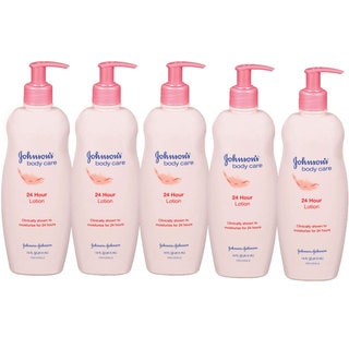 Johnson's Body Care 24 Hour 14-ounce Body Lotion (Pack of 5)