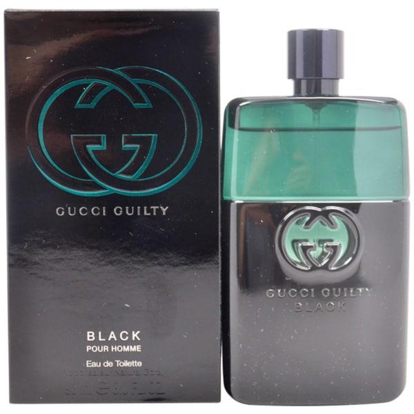 Gucci Guilty Black Pour Homme Men's 3-ounce Eau de Toilette Spray