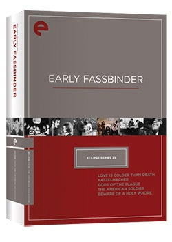 Eclipse Series 39: Early Fassbinder (DVD)