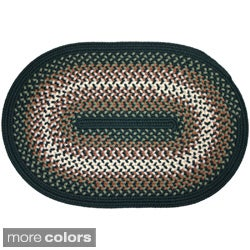 River Textured Braided Rug (2' x 3')