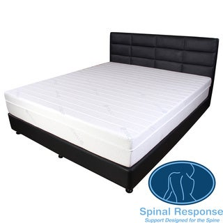 Spinal Response Cool Tencel 11-inch Twin XL-size Gel Memory Foam Mattress