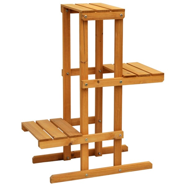 Cyress wood 3 tier plant stand 15418189 How to build a tiered plant stand