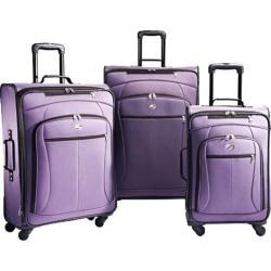 American Tourister AT POP 3 Piece Spinner Set Purple
