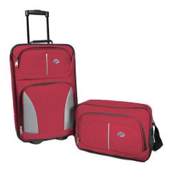 American Tourister Fieldbrook 2 Piece Set Red