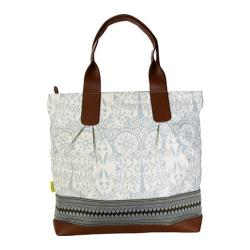 Women's Amy Butler Cara Tote Temple Door Dove Grey