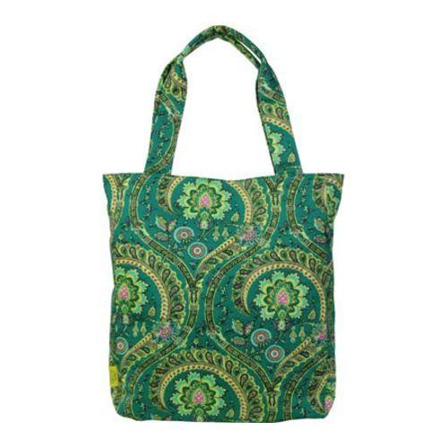 Women's Amy Butler Sara Tote Feather Paisley Peacock